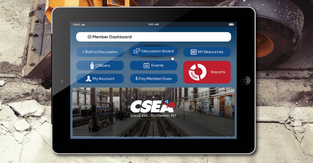 CSEA 420 Member Dashboard