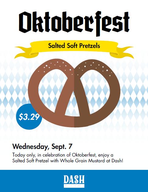 DASH Oktoberfest Poster