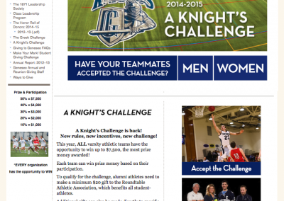 SUNY Geneseo, A Knight's Challenge 2014