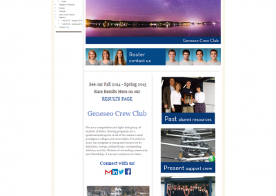 SUNY Geneseo, Geneseo Crew Club