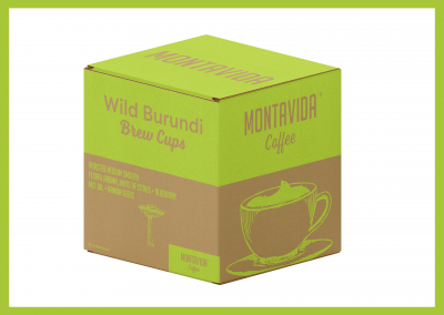 MontaVida Coffee Wild Burundi Brew Cup Box
