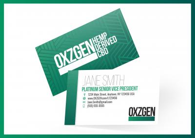 OXZGEN Business Cards