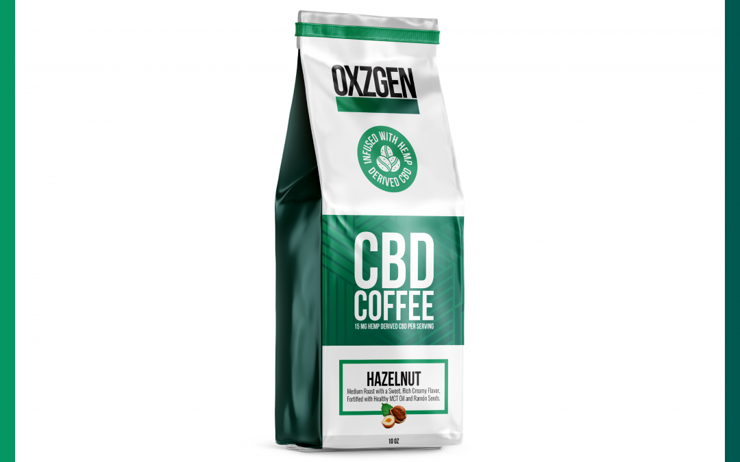OXZGEN Hazelnut CBD Coffee