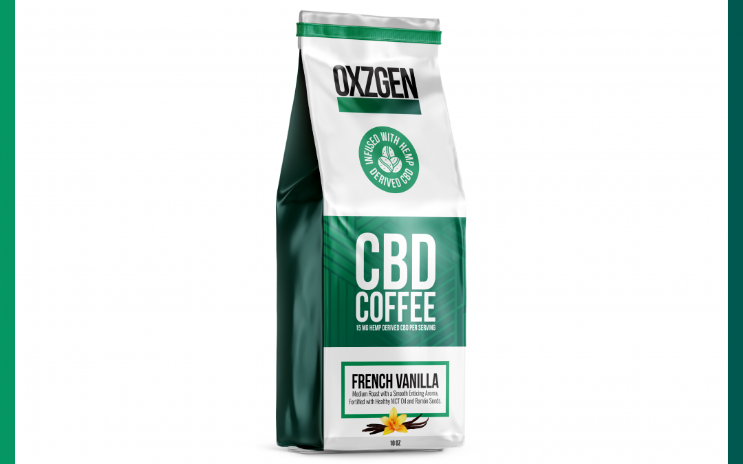 OXZGEN French Vanilla CBD Coffee