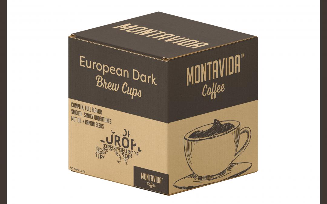 MontaVida Coffee European Dark Brew Cup Box