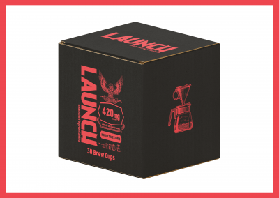 Launch High Octane Coffee Brew Cup Box