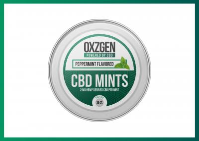 OXZGEN CBD Mints
