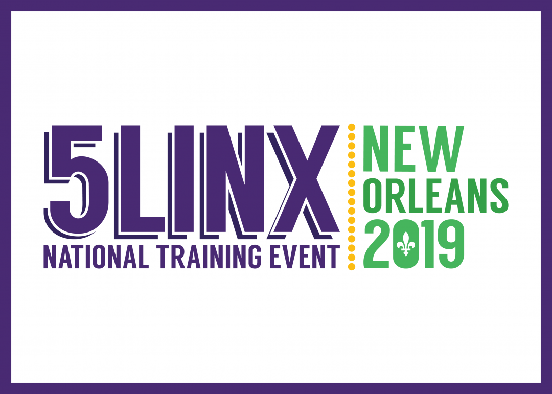 5LINX National Training Event New Orleans 2019 Logo