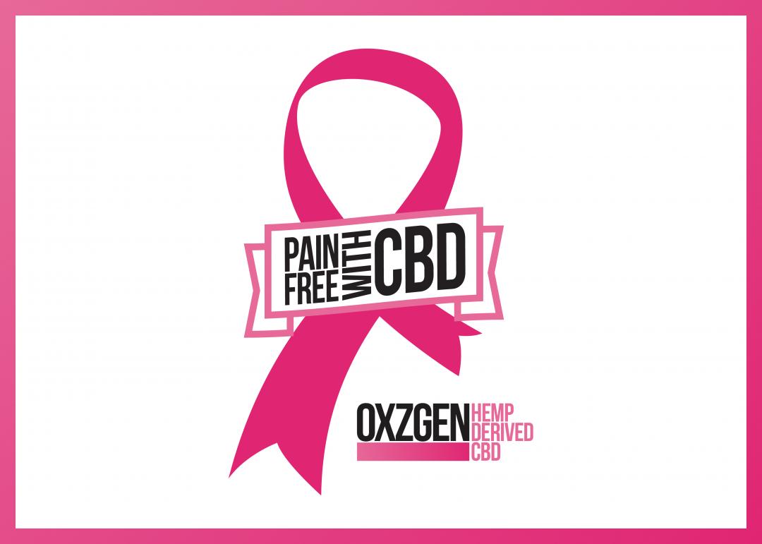 OXZGEN Hemp Derived CBD Pink Initiative for Breast Cancer Awareness Logo
