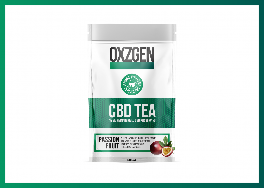 OXZGEN Passion Fruit CBD Tea