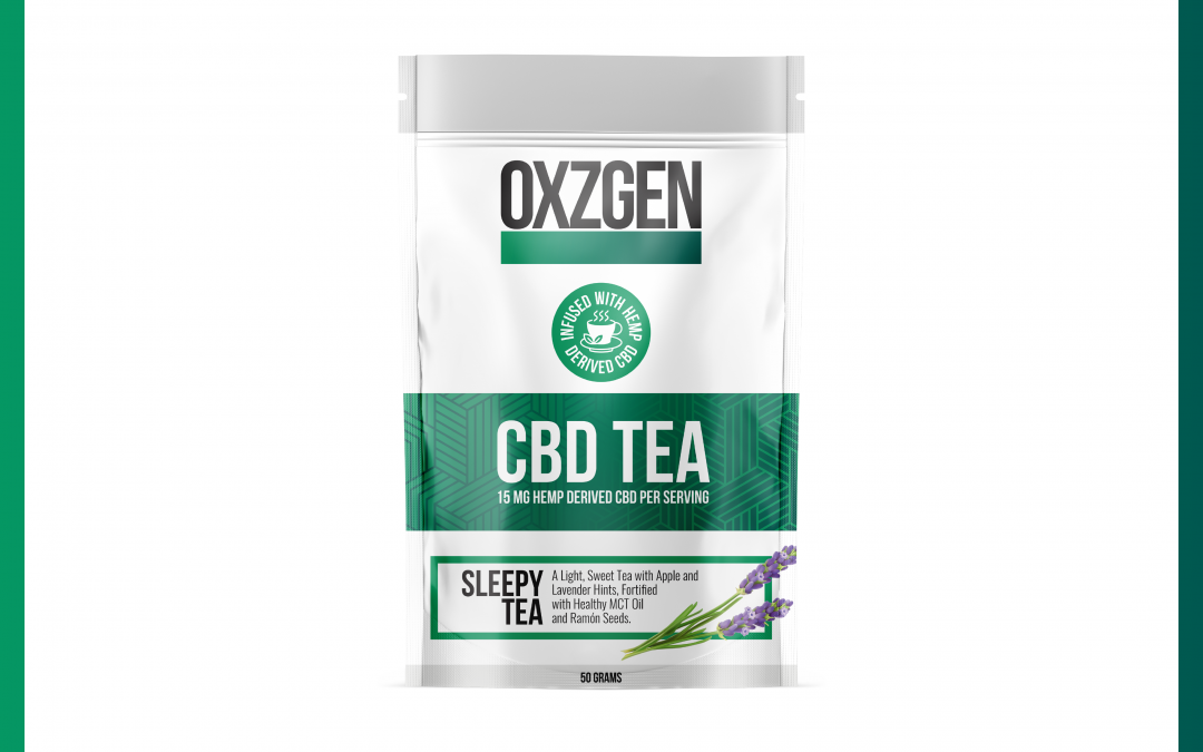 OXZGEN Sleepy Tea CBD Tea
