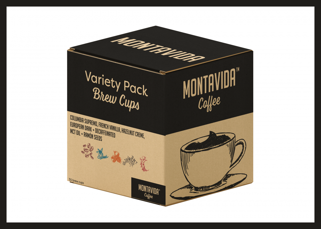 MontaVida Coffee Variety Brew Cup Box