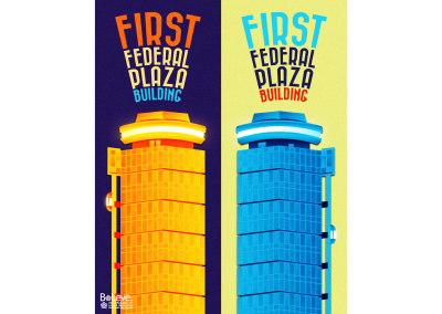 City of Rochester Poster Series, First Federal Plaza Building