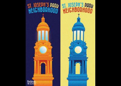 City of Rochester Poster Series, Saint Joseph's Park