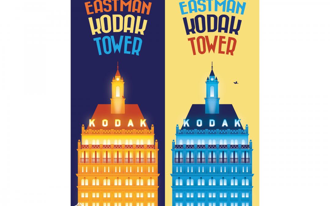 City of Rochester Poster Series, Kodak Tower