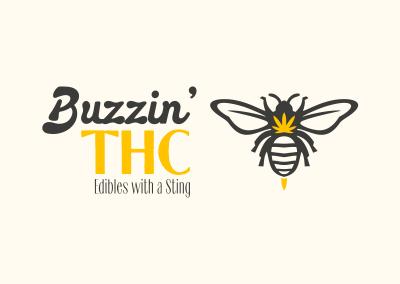 Buzzin' THC Brand/Logo Concept