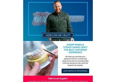 Email Marketing Campaign   BonaDent Dental Laboratories